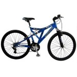 Mongoose Maneuver Men's Dual-Suspension Mountain Bike